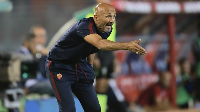 Spalletti demands end to damaging Roma 'games'