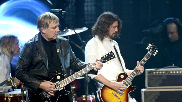 Q&A: Dave Grohl Reflects on Inducting Rush Into the Rock and Roll Hall of Fame