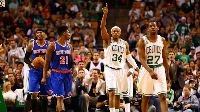 New York Knicks v Boston Celtics - Game Four