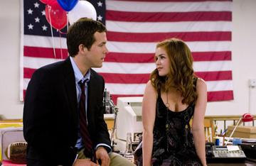 Ryan Reynolds and Isla Fisher in Universal Pictures' Definitely, Maybe