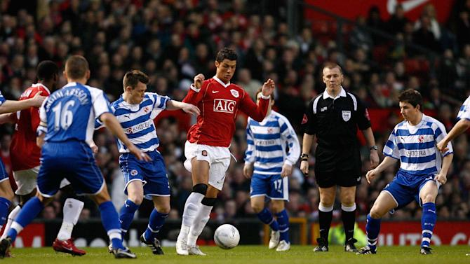 A picture is worth a thousand words (Cristiano Ronaldo v Reading). Bradley Ormersher (The Times)