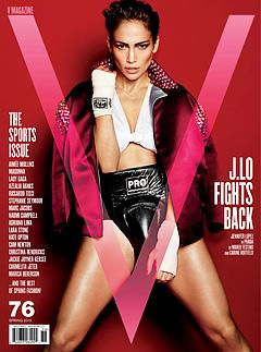 Jennifer Lopez Flashes Boobs, Flaunts Six-Pack Abs as Sweaty Boxer