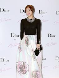 [Photo] Ha Ji Won wearing a beautiful long dress