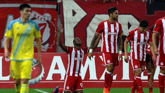 Football Soccer - Olympiacos v Astana - UEFA Europa League Group Stage