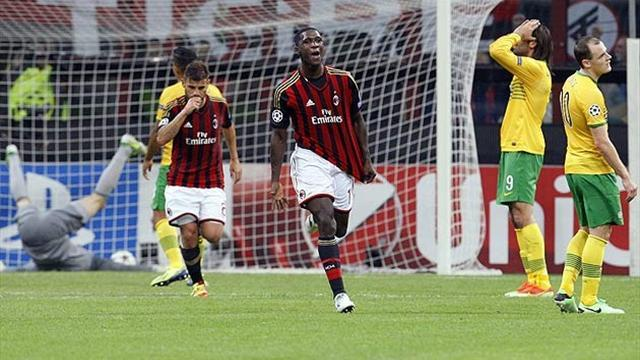 Champions League - Celtic's cursed defeat in Milan represents three points lost