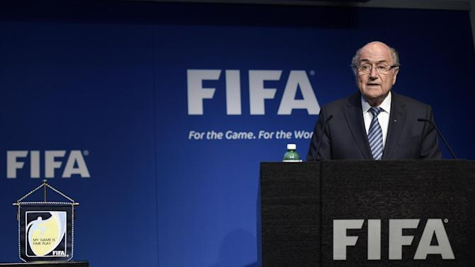 Sponsors say Blatter resignation one step in FIFA reform