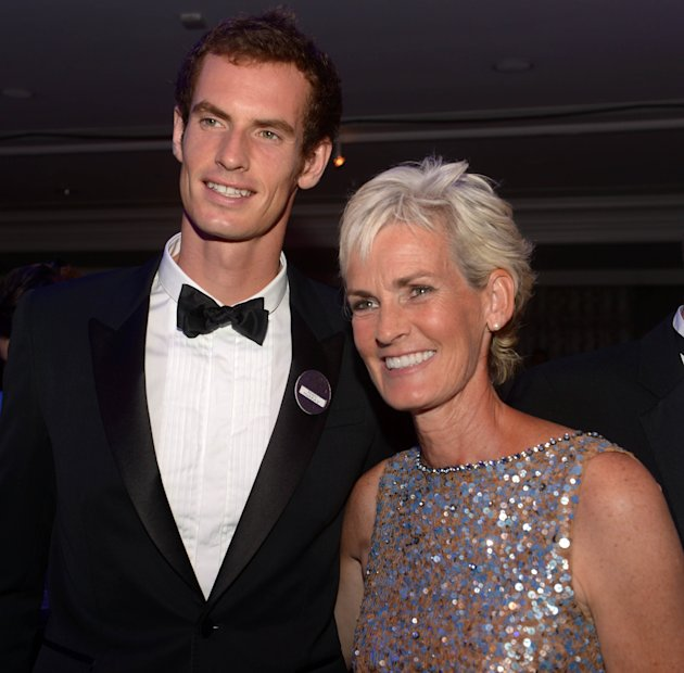 Andy Murray has been ribbing his mum for appearing on Strictly.