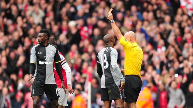 Premier League - Adebayor apologises for red card tackle