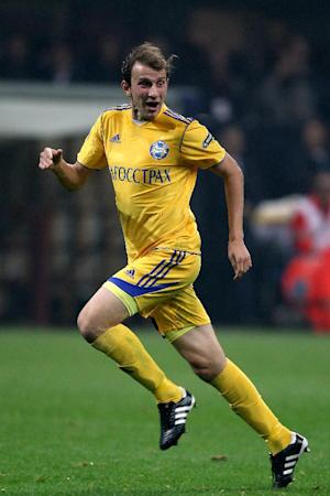 Renan Bressan was on target as BATE shocked Bayern Munich