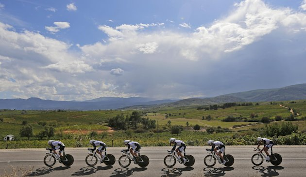The Road Cycling World Championships in Ponferrada, north-western Spain (AP)