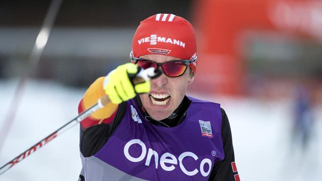 Nordic Combined - Germany victorious as season finale is called off in Falun