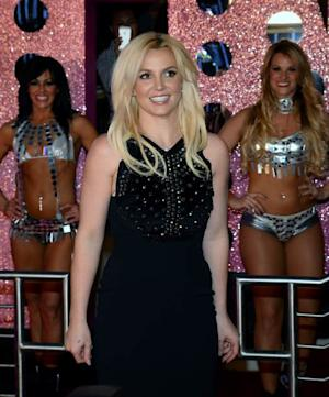 Britney Spears arrives at a welcome ceremony as she celebrates the release of her new album 'Britney Jean' and prepares for her two-year residency at Planet Hollywood Resort & Casino on December 3, 2013 in Las Vegas -- Getty Images