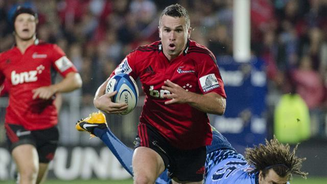 Super Rugby - Crusaders quell Hurricanes but Chiefs win NZ conference