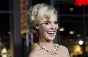 "File photo of Katherine Heigl at the premiere of ""New Year's Eve"" in Hollywood"