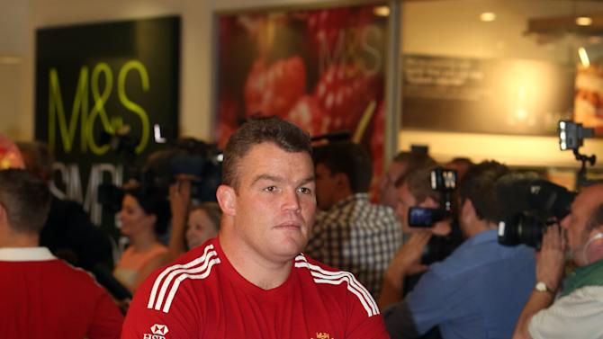 Rugby Union - British and Irish Lions return - London Heathrow Airport