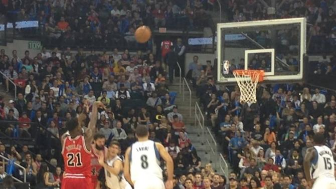 NBA: Chicago Bulls beat Minnesota Timberwolves in pre-season game in Canada