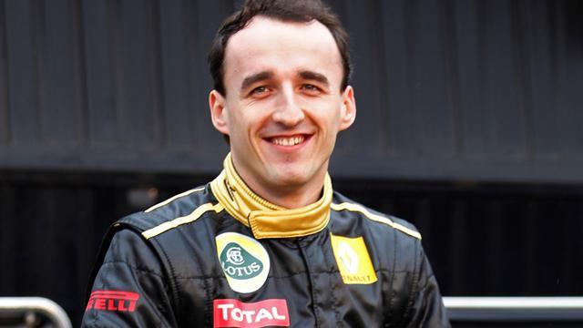 Kubica tests factory WRC Fiesta