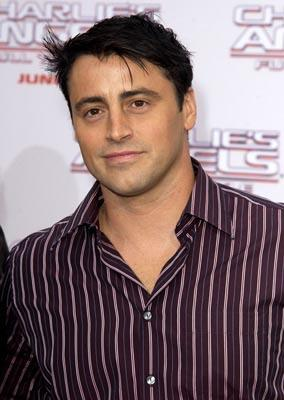 Matt LeBlanc at the LA premiere of Columbia's Charlie's Angels: Full Throttle