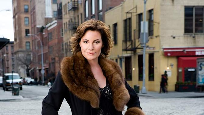 LuAnn DeLesseps of The Real Housewives of New York City.