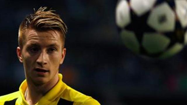 Champions League - Dortmund's Reus bullish ahead of Real Madrid clash