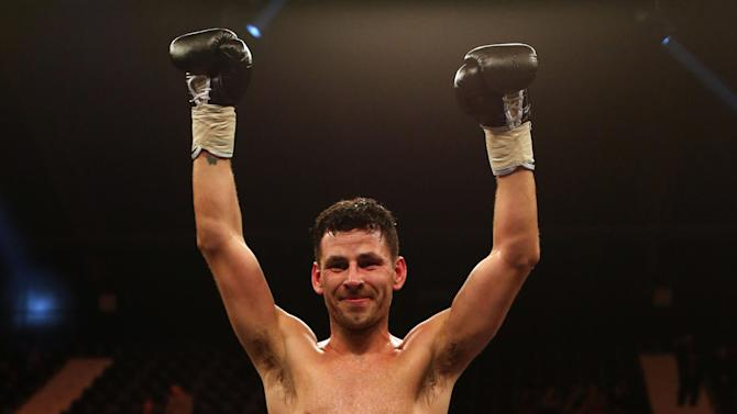 Boxing - Darren Barker File Photo
