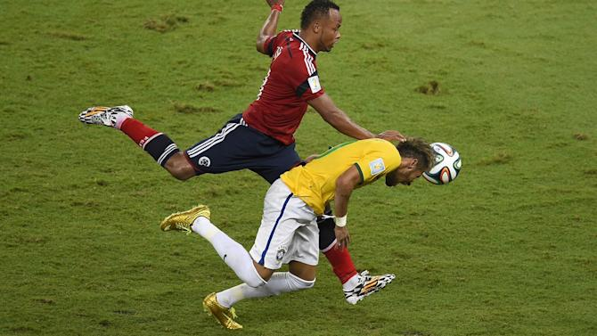 World Cup - Zuniga 'wanted to scare Neymar, but doesn't deserve ban' - Jose Mourinho