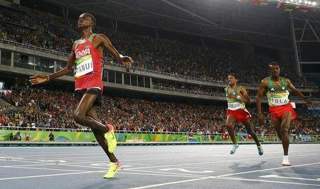 2016 Rio Olympics - Athletics - Men's 10,000m Final