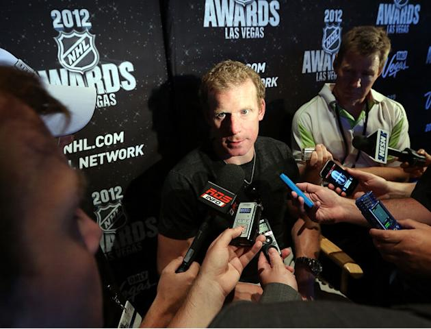Ottawa Senators Captain Daniel Alfredsson Speaks Getty Images