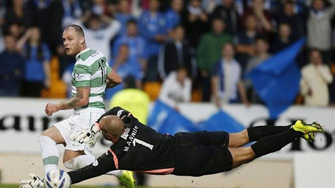 Scottish Premiership - Celtic begin title defence with controversial victory
