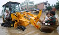 Millions Affected By Floods In Eastern China