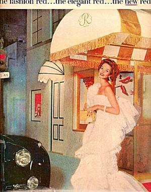 Original ad for Revlon Fifth Avenue Red