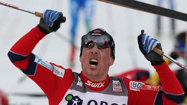 Cross-Country Skiing - Roenning wins stage three of mini tour as Northug edges closer to titles