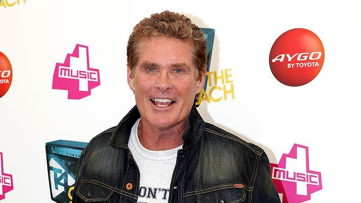 David Hasselhoff T On The Beach