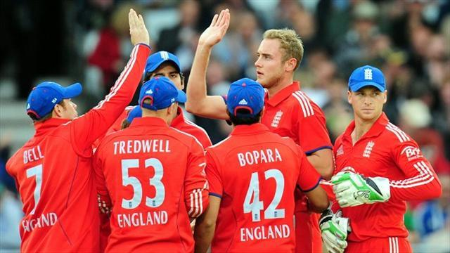 Cricket - England lose World T20 opener to NZ on D/L method