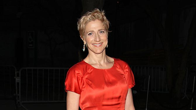 Edie Falco attends the Vanity Fair party during the 8th annual Tribeca Film Festival at the State Supreme Courthouse on April 21, 2009