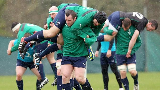 'Realistic' Ireland keeping their feet on the ground ahead of Triple Crown showdown
