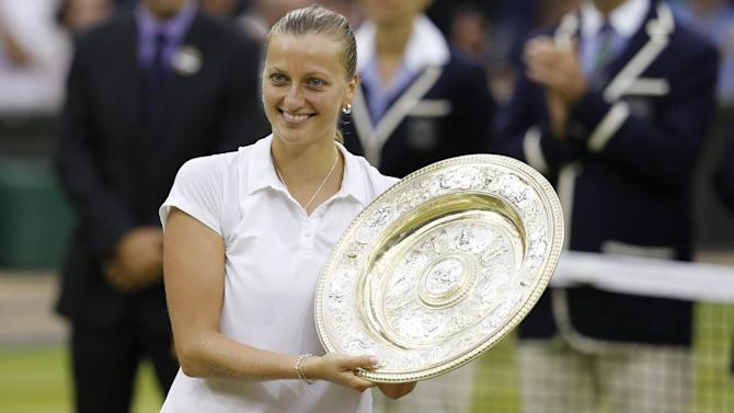 Wimbledon - Ruthless Kvitova wins second title in under an hour