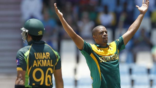 Cricket - Philander shows one-day prowess in South Africa win