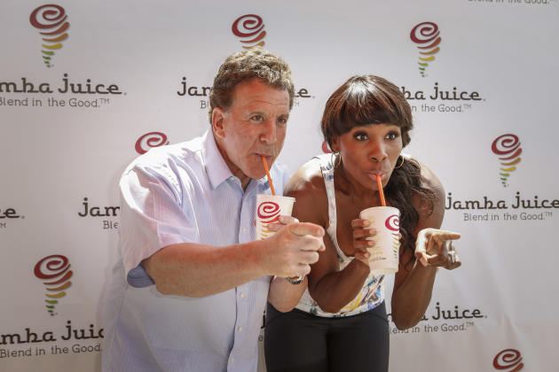 IMAGE DISTRIBUTED FOR JAMBA JUICE - Tennis superstar Venus Williams and fitness icon Jake Steinfeld led healthy living discussions as part of the fourth annual FiTrends Expo with Jamba Juice at the An