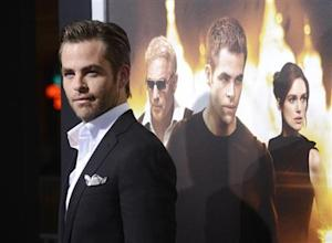 "Chris Pine attends the premiere of the film ""Jack Ryan: Shadow Recruit"" in Los Angeles"