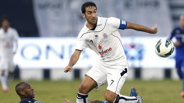 Asian Football - Raul wins Qatari League title with Al Sadd