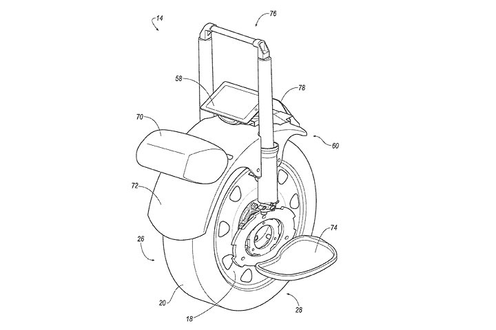 ford patent could turn a car wheel into an electric unicycle yahoo7 finance australia. Black Bedroom Furniture Sets. Home Design Ideas