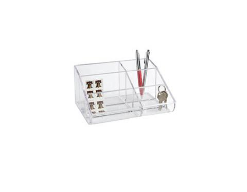 Container Store 6-Section Acrylic Organizer, $12.99, containerstore.com