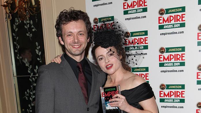 2009 Empire Awards UK Michael Sheen Helena Bonham Carter