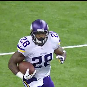 What does the future hold for running back Adrian Peterson?