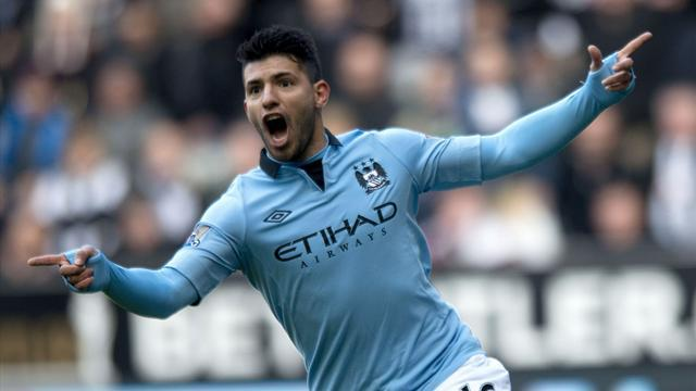 Premier League - Sergio Aguero signs new Manchester City contract