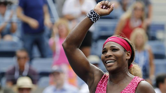 US Open - Defending champ Serena Williams reaches quarter-finals