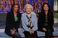 'Hot In Cleveland' stars Wendie Malick, Betty White and Valerie Bertinelli appear on Access Hollywood Live, March 7, 2012 -- Access Hollywood