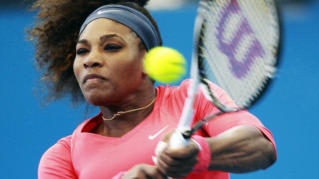 Tennis - Williams off to flyer in Brisbane