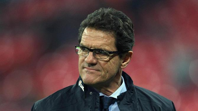 Former England boss Fabio Capello set for move to Moscow